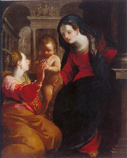Mystic Marriage of S.Catherine, Rizzi's Gallery