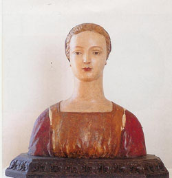 Bust of young woman, Rizzi's Gallery
